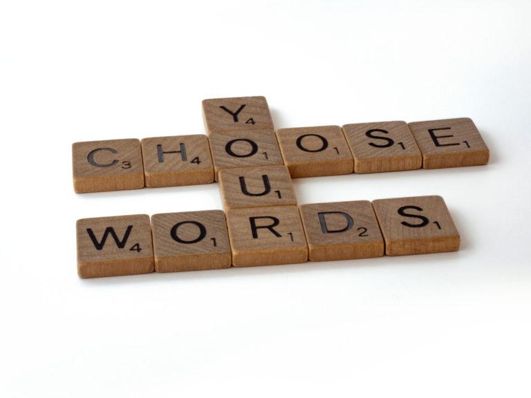 transcriptie - woorden doen ertoe